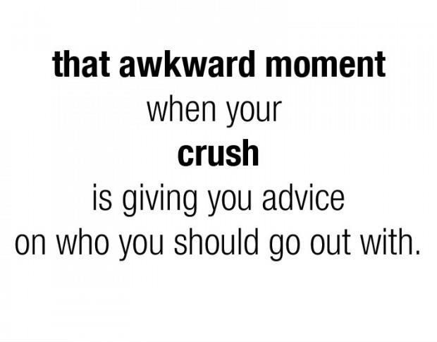 advice, awkward, crush, funny, quotes - image #4001790 by ...