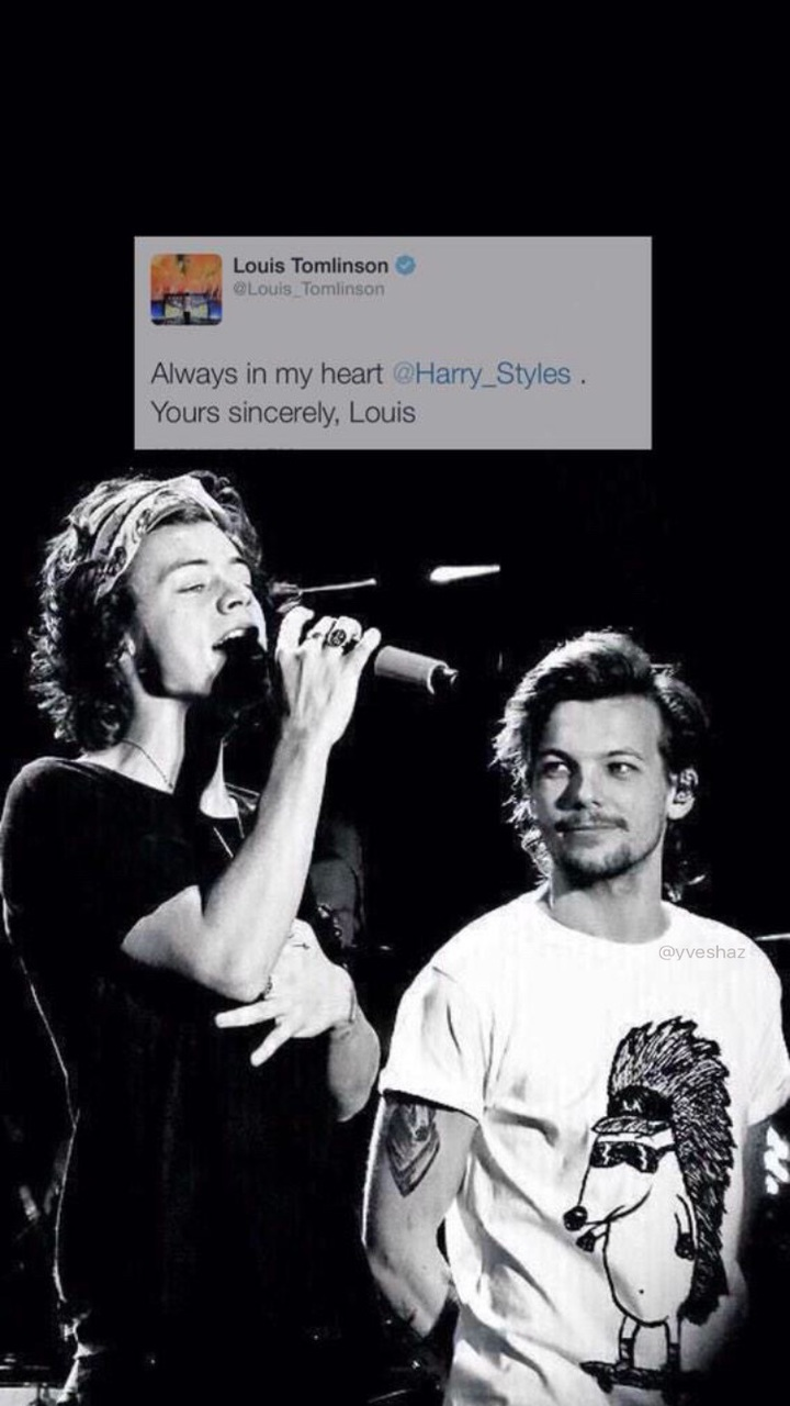 Black Black And White Harry Styles Husbands Larry