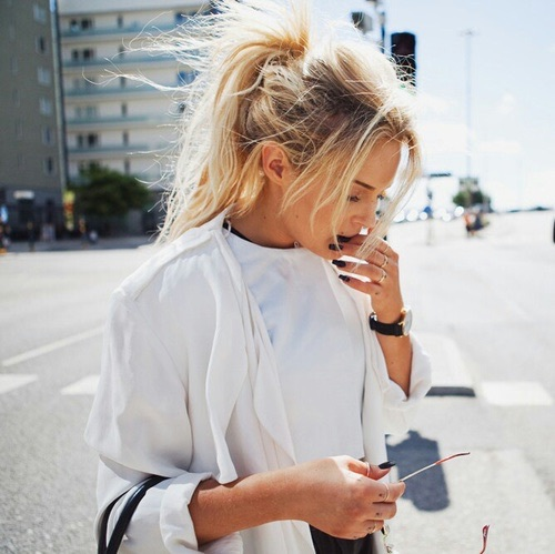 Hairstyle Goals : beauty, blond, fashionista, goals, hairstyle - image #4028200 by ...