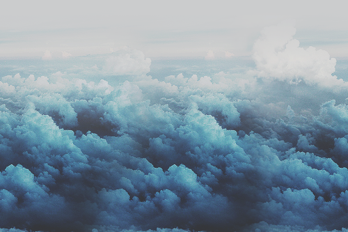 blue, clouds, colorful, photography, tumblr, white, First Set on Favim.com