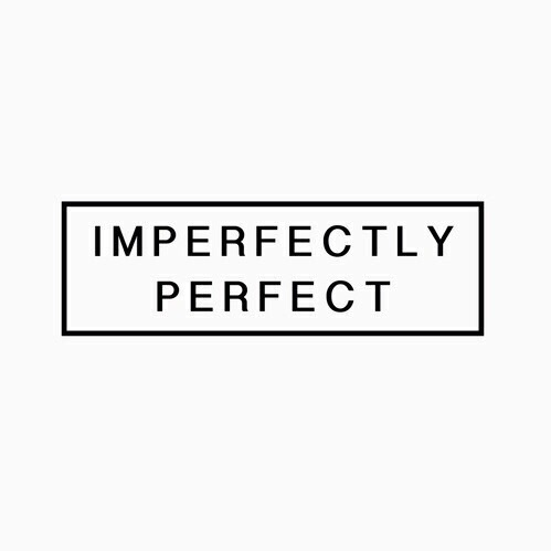 imperfect, inspiring, letters, perfect, quote, quotes, smile, square, text, true, tumblr, white, word, words, First Set on Favim.com, imperfectly