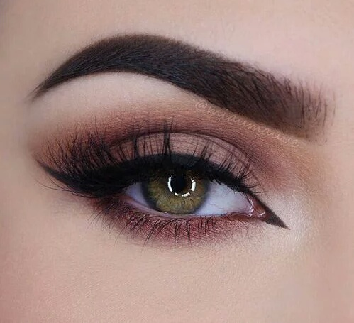 Beautiful beauty eyebrows eyes fashion image for Rosa augen