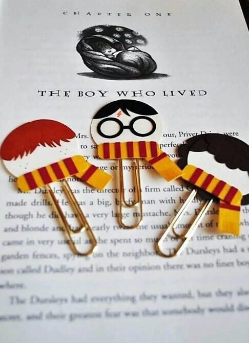 bookmark, bookmarks, griffyndor and harry