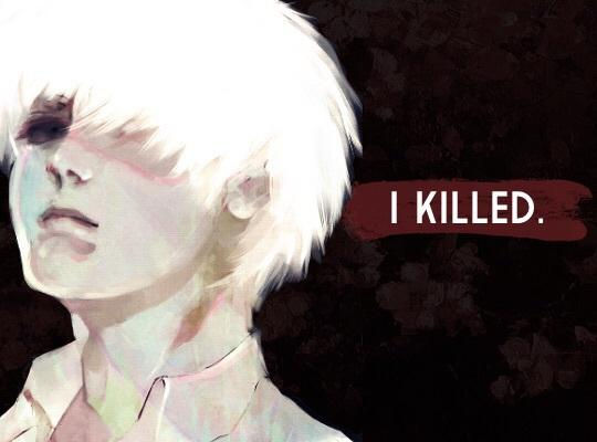 anime, anime boy, beautiful, care, depressing, i, ken, love, manga, me, pretty, red, red eye, sad, school, tragedy, uniform, we heart it, white hair, wonderful, Tg, tokyo ghoul, kaneki