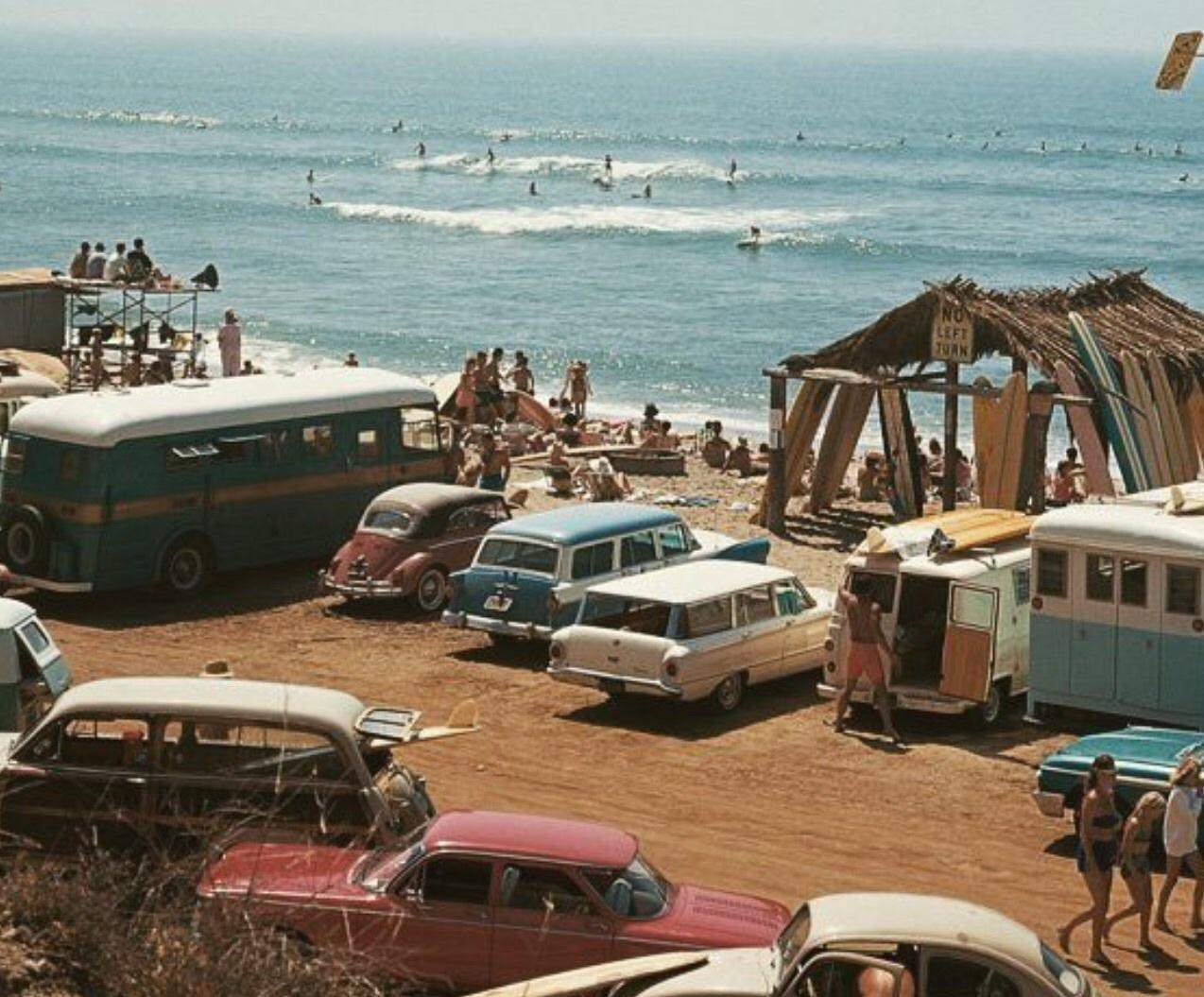 beach, car, family, freedom, friends, hip, hippy, hipster, holiday, retro, sand, seventies, summer, surf, surfboard, vintage, vintage car, waves, west coast, love water, convi