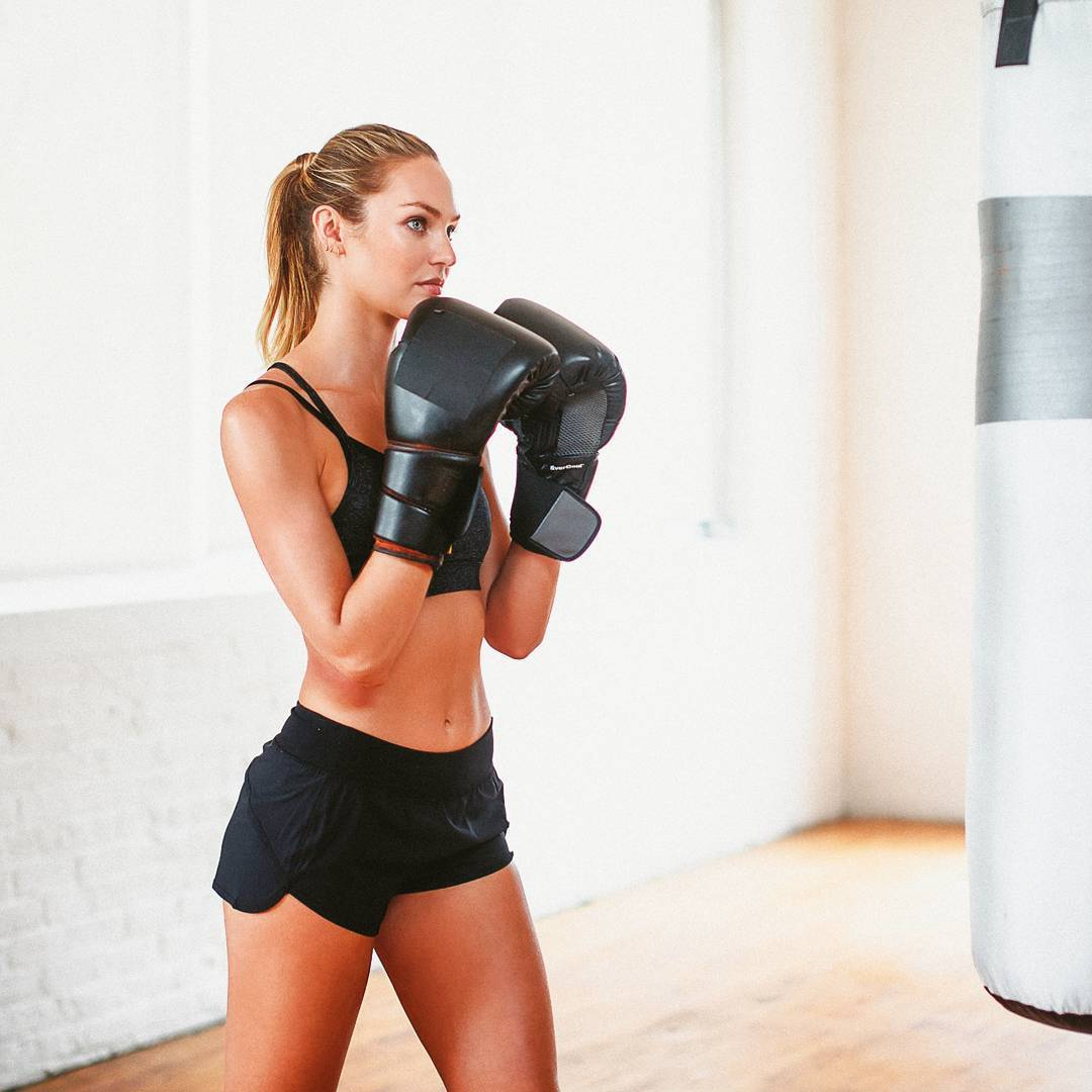 angel, boxing, candice swanepoel, girl power, model, sports