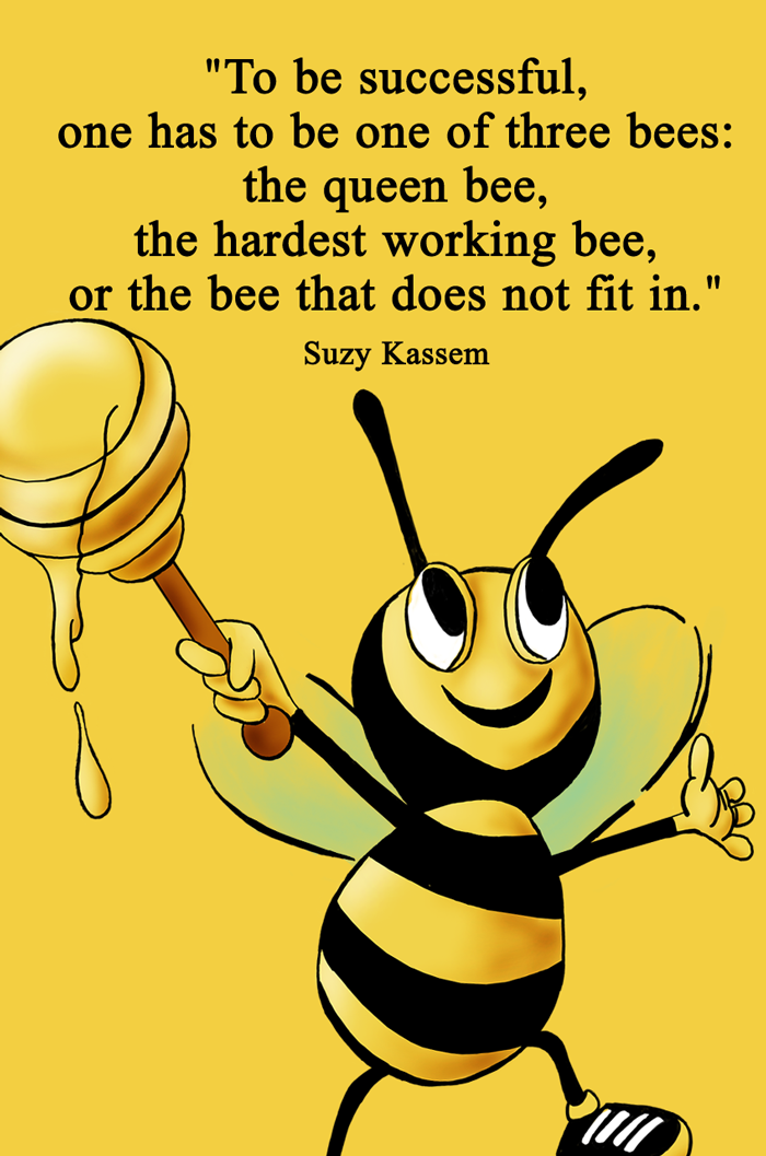 bees, success, suzy kassem and suzy kassem poetry