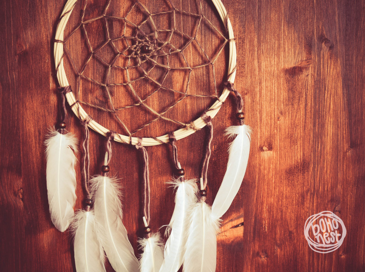 natural, handmade, unique, catcher, dream catcher