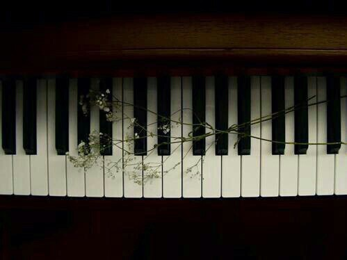 music, beautiful, love, piano, vintage