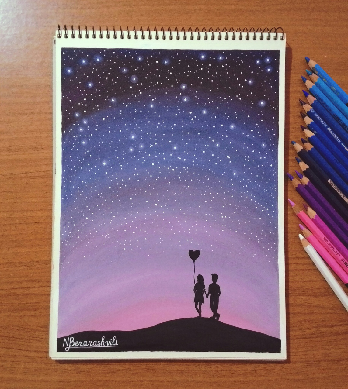 pink, art, ispiration, illustration, love is in the air