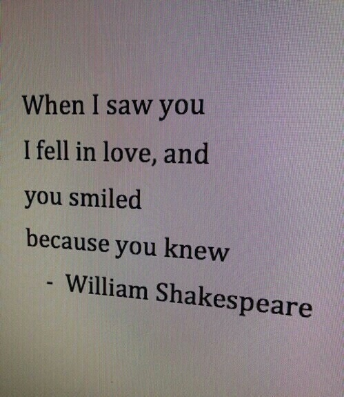 William Shakespeare Poetry Quotes: Image #4162845 By Helena888 On Favim.com