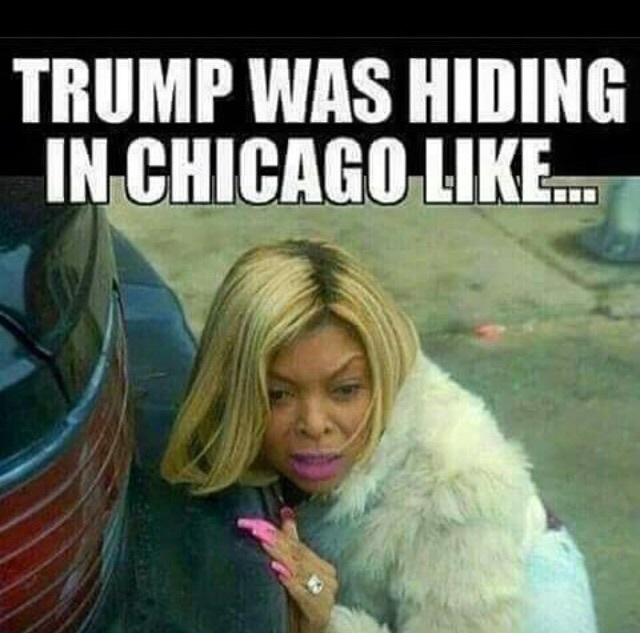 protesters, donald trump, chicago, protests, funny
