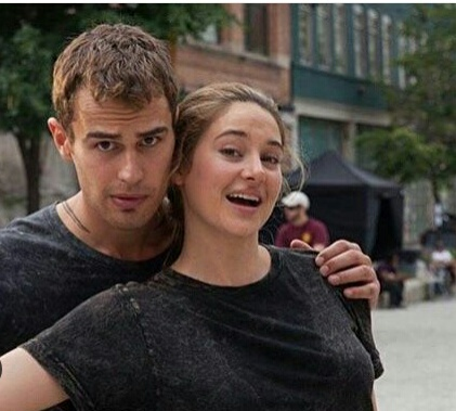theo james, funny moments, insurgent, allegiant, shailene woodley
