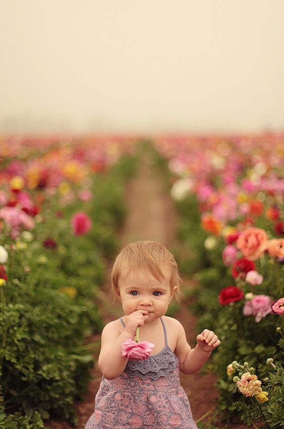 baby cute , spring , flowers - image #4207320 by ...