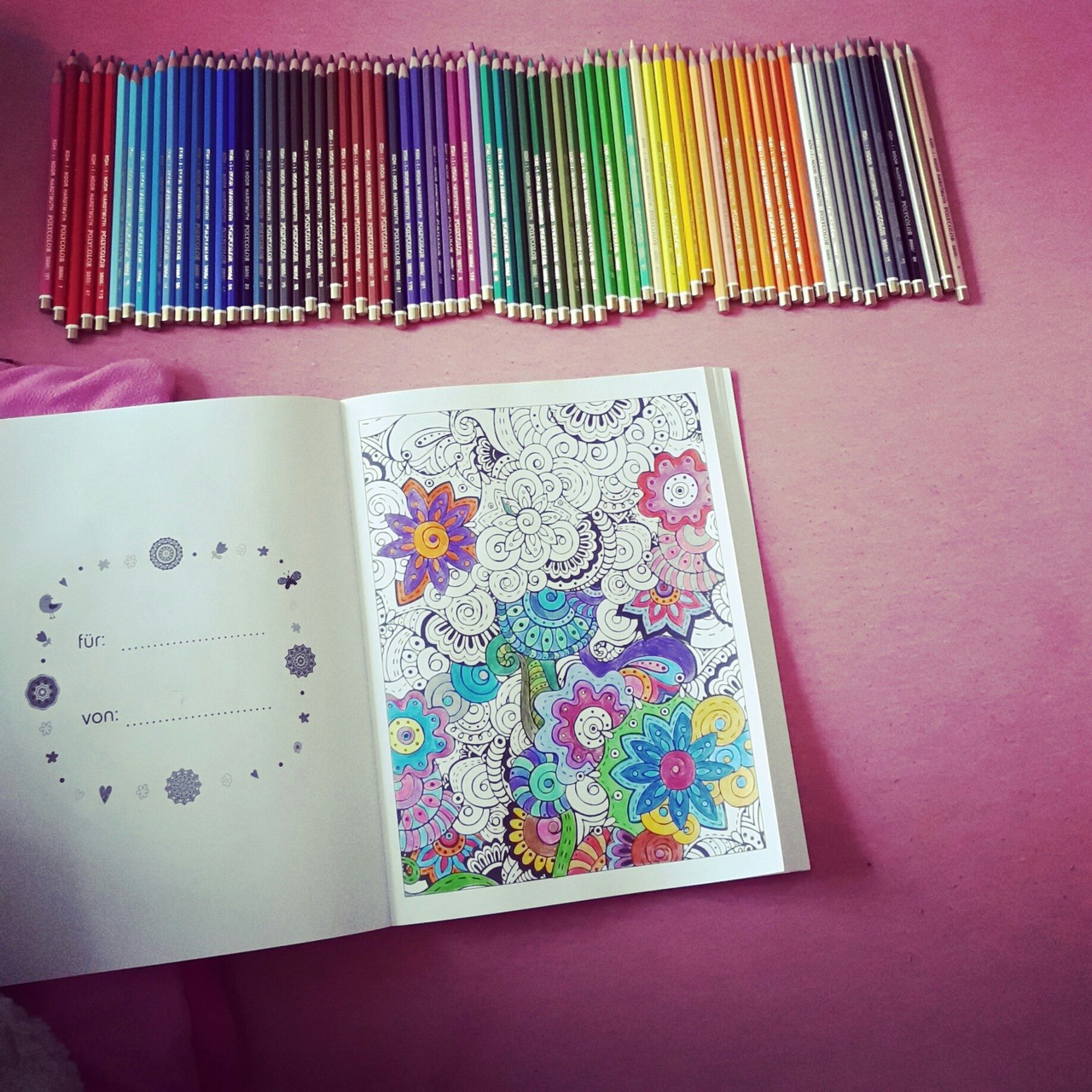 girly stuff, colorful, polycolor, art, drawing