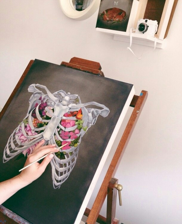 beautiful, draw, floral, art, aesthetic
