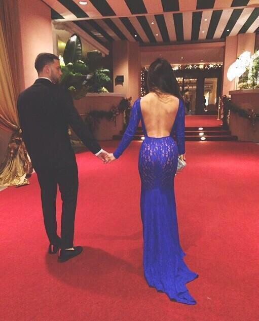 tumblr, long gown, gown, dark hair, relationship goals