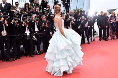 blake lively, cannes, cindrella, fashion