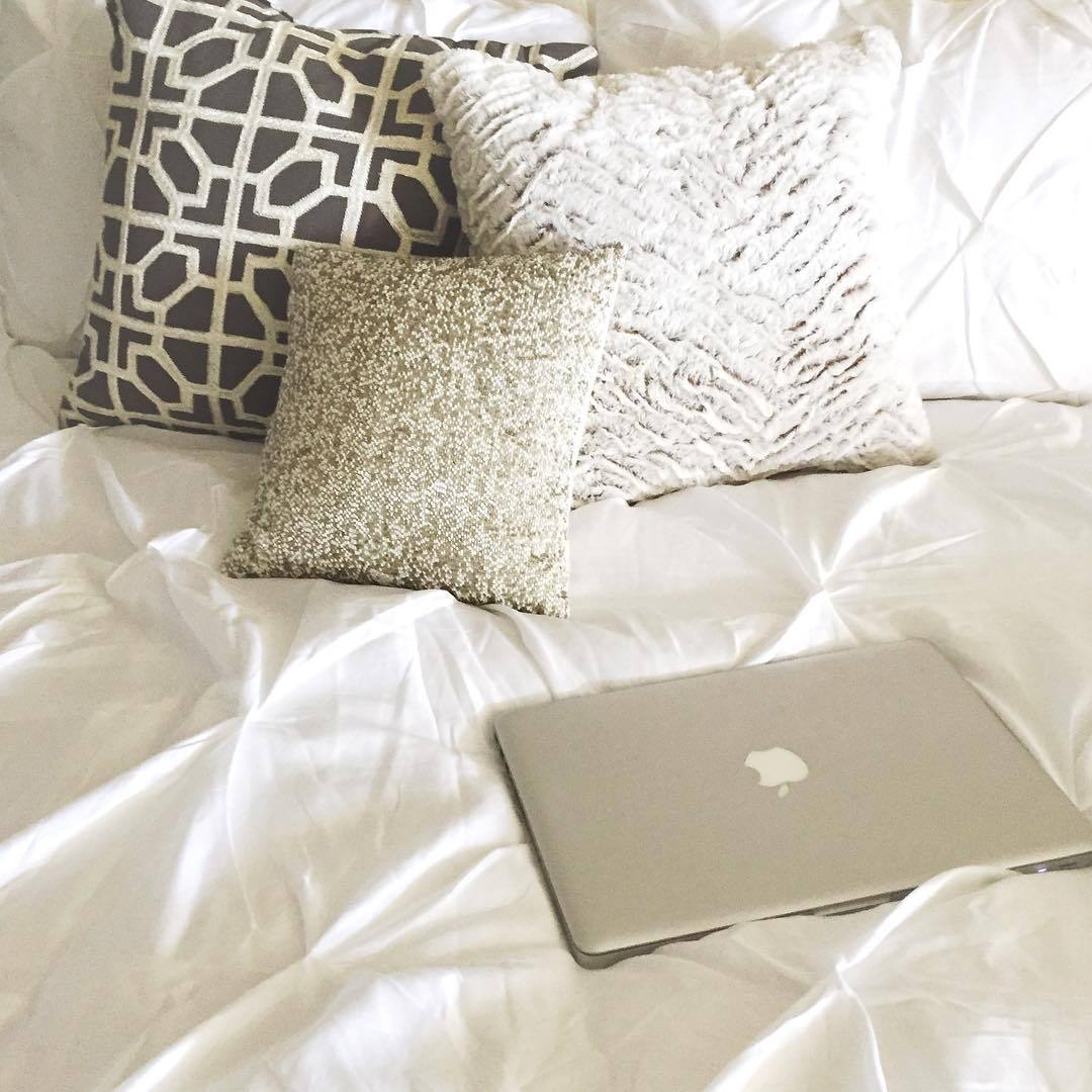 apple, bed, chic, class, classy