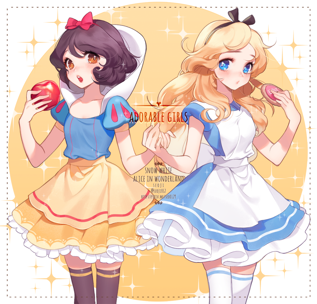 alice in wonderland, cute, disney, disney princess, disney princesses