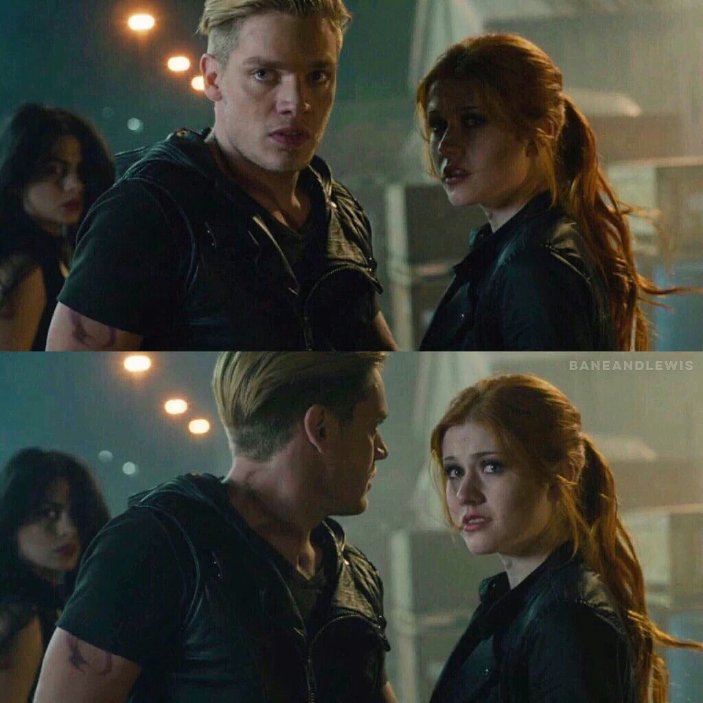 clace, clary fray, jace herondale, shadowhunters, dominic sherwood