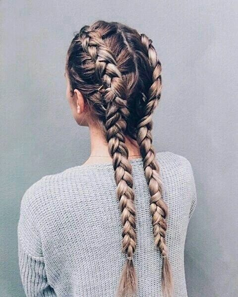 beauty, braid, braided, braids, fashion