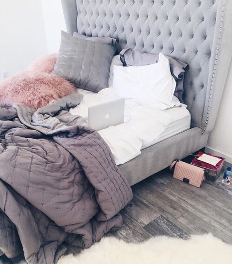 bed, bedroom, chanel, chill, comfy