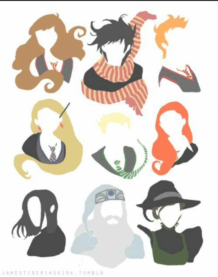 cool, draco malfoy, harry potter, heroes, luna