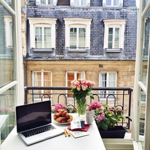 architecture, citylife, croissant, fashion, flowers