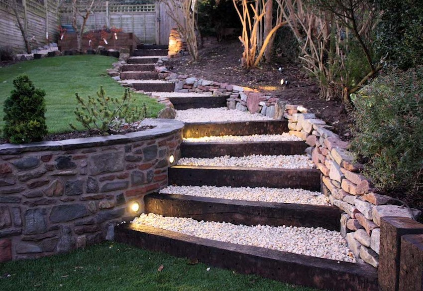 Garden Pathway, Garden Stairs Designs, Garden Stairs DIY and Garden Stairs Ideas