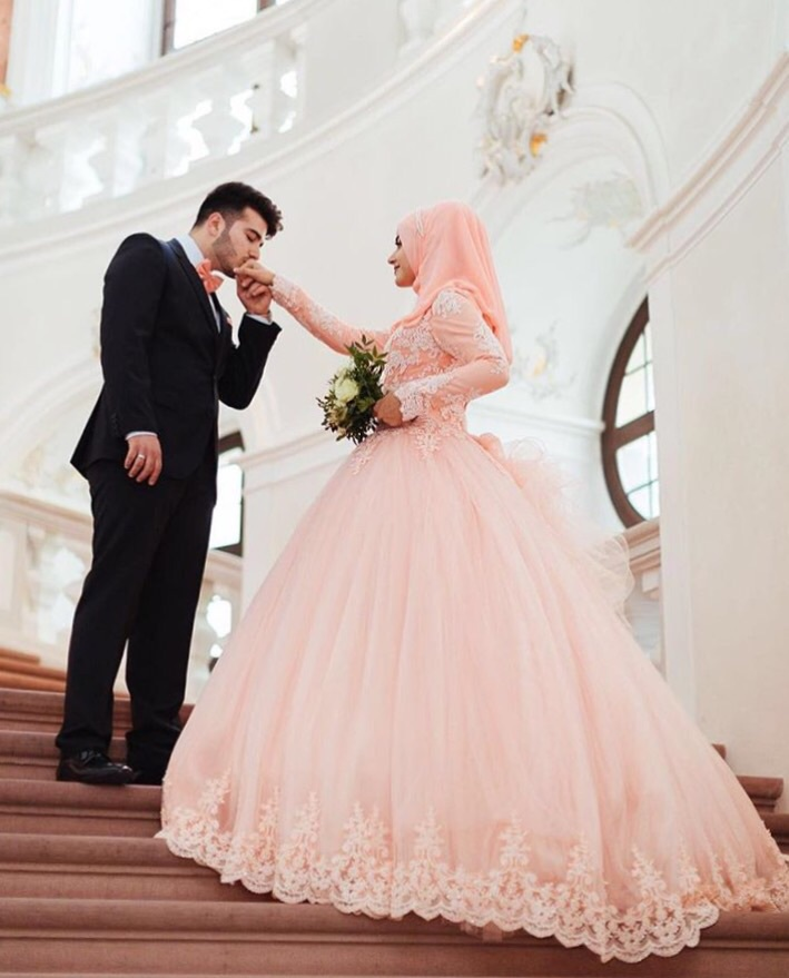 couple, cute, cute couple, goals, hijab