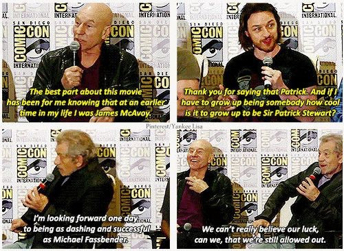 awesome, believe, bromance, charles xavier, cool