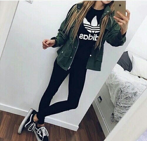 Adidas Clothes Fashion Girl Sport Style Image