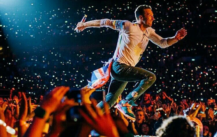 chris martin, coldplay, concert, live, music