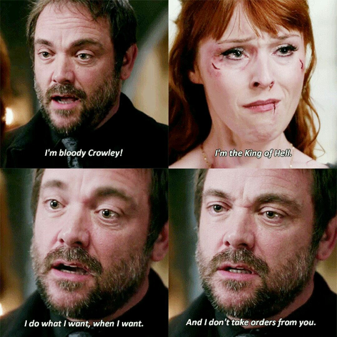 actor, actress, awesome, crowley, demon