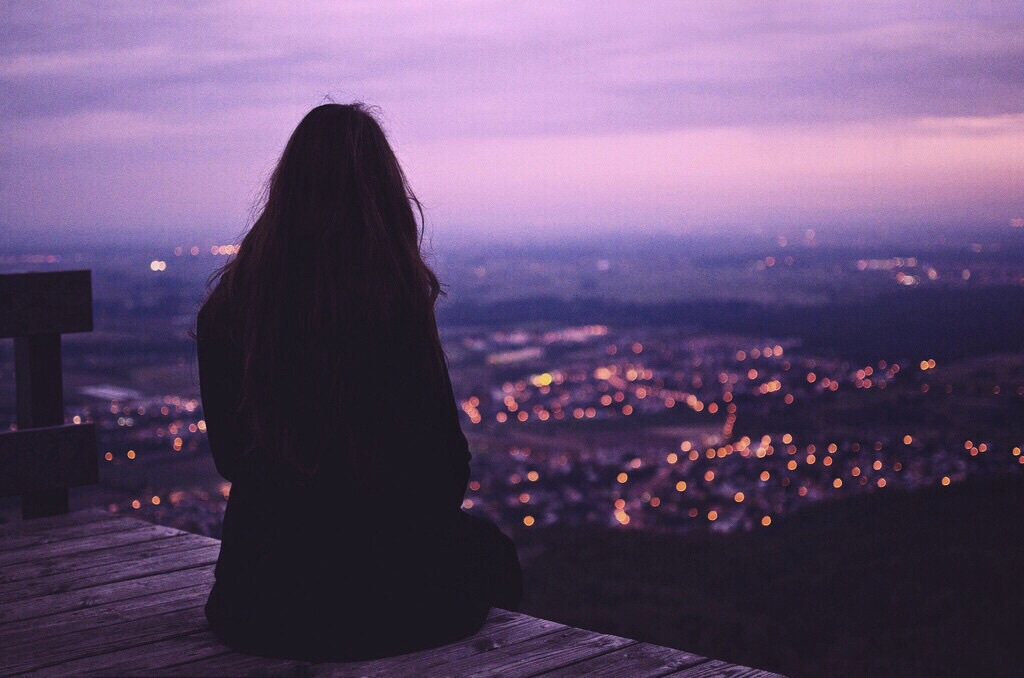 alone, alternative, beauty, city, girl