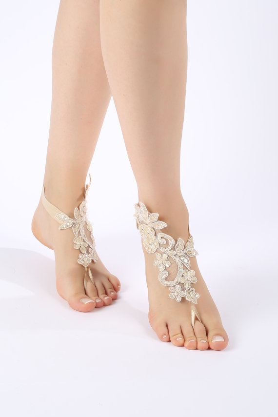 anklet, bangle, barefoot, bridal, bridesmaid