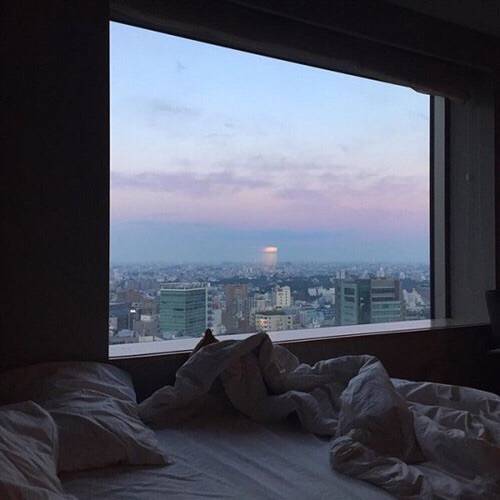 aesthetic, bedroom, city, grunge, indie