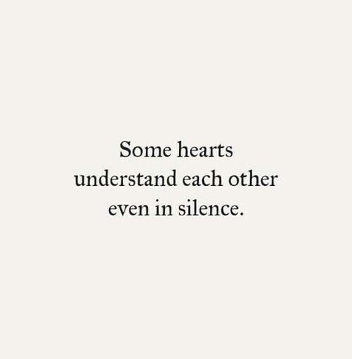 meant to be, true love, understand, aggo quotes, in silence