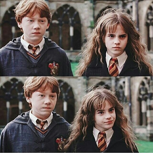 emma watson, harry potter, movies and ron weasly