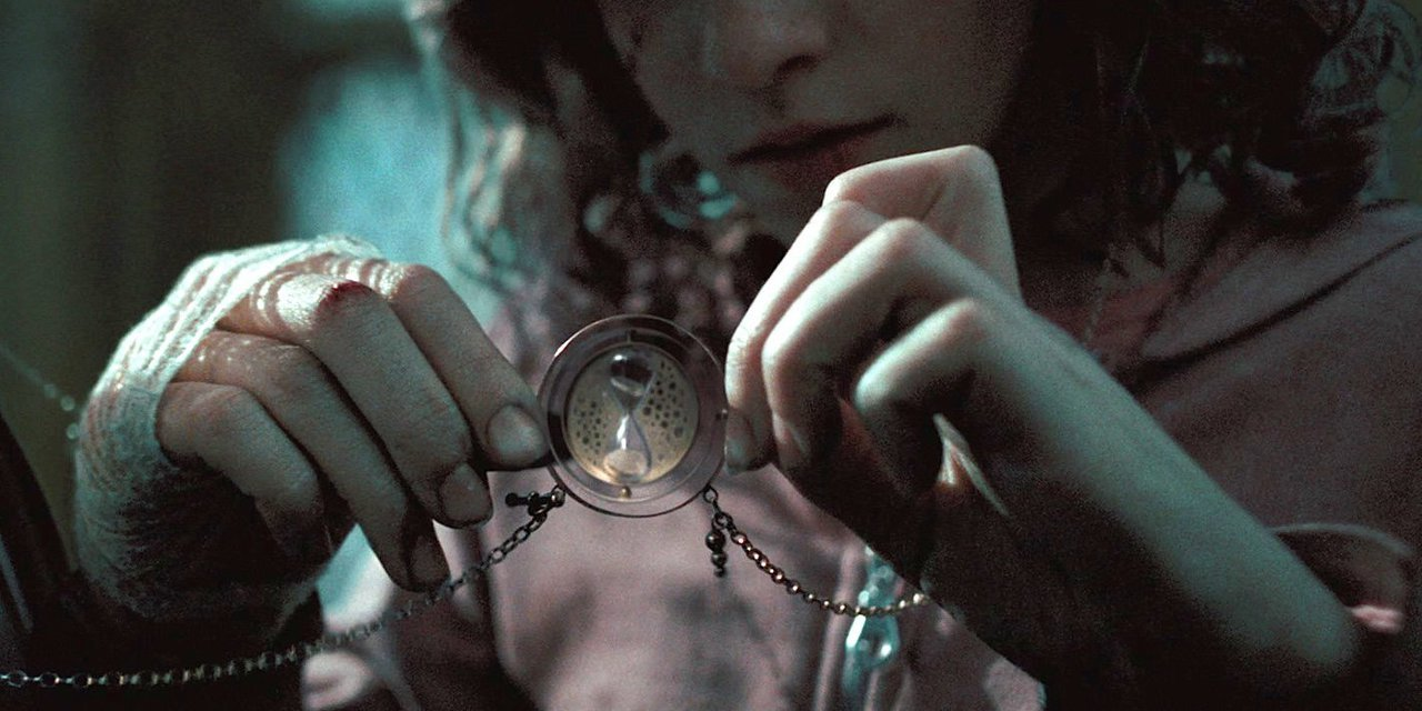 alone, harry potter, hermione granger and time turner