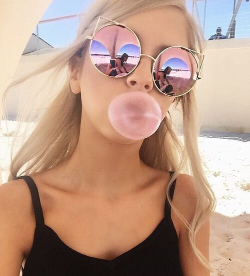 beach, blonde, bubblegum, cute, dior
