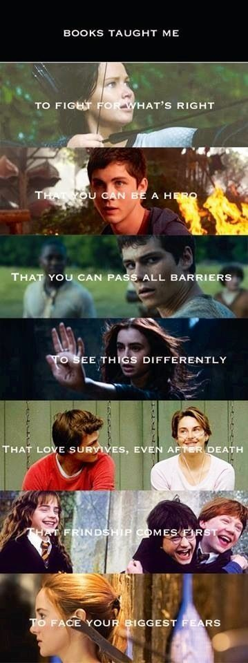 divergent, fandoms, harry potter, percy jackson, the fault in our stars
