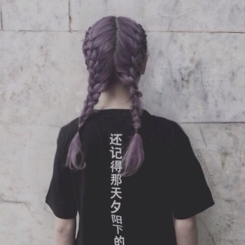 aesthetic, back, cute, girl, hair
