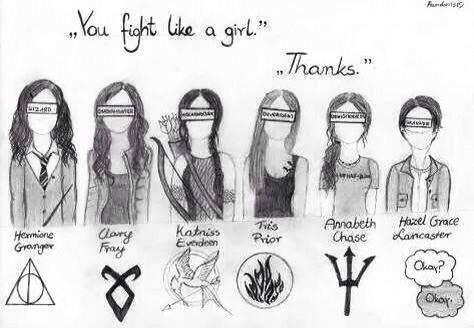 black and white, clary fray, divergent, harry potter, hazel grace lancaster