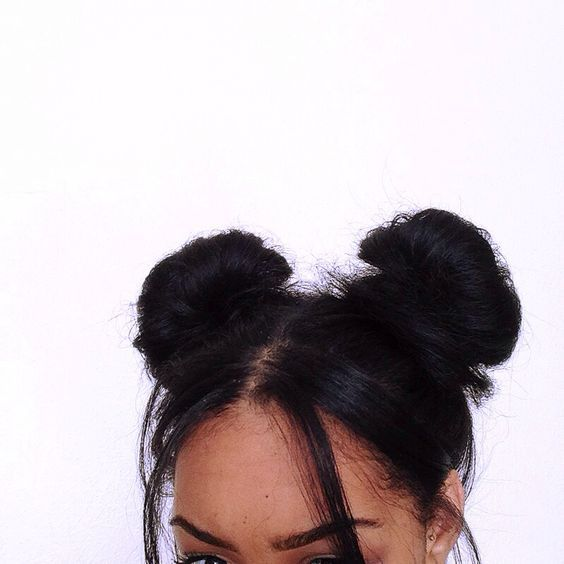 bun, buns, hair and hairstyles