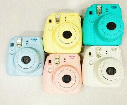 aqua, blue, camera, colors, cute