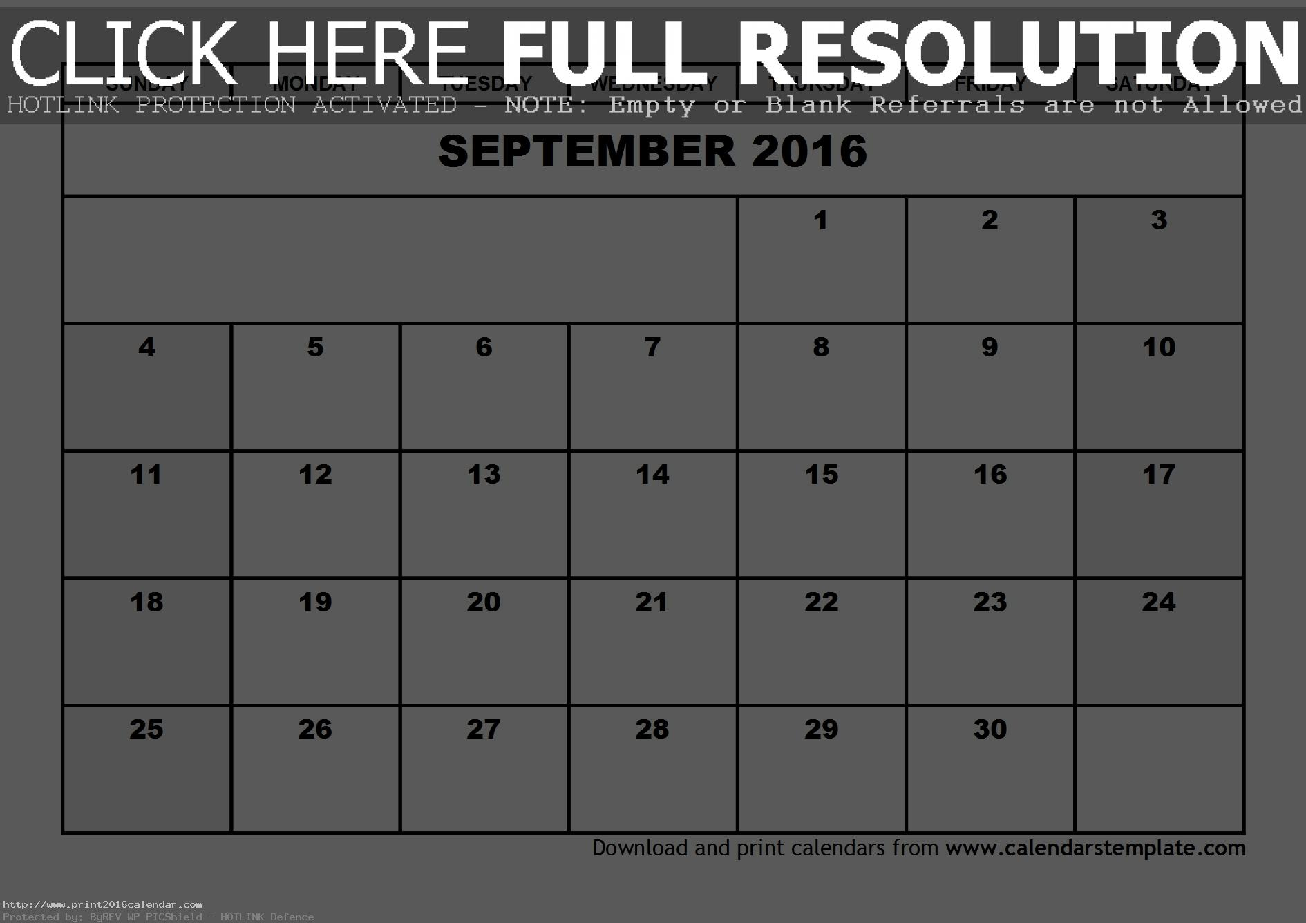 September 2016 Calendar Pdf To Print, Sep 2016 Calendar Pdf To Print, 2016 Calendar Pdf Printable Calendar and Pdf Printable September 2016 Calendar With Holidays