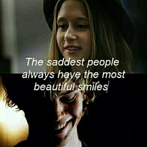 ahs, quotes, sad, smile, tate - image #4727360 by rayman on ...
