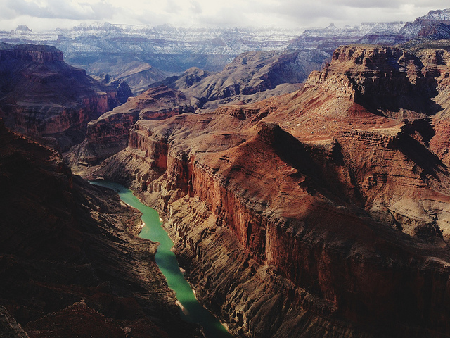 canyon, indie, nature, river, view